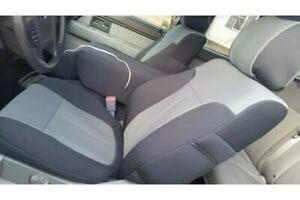 Coverking Neosupreme Seat Covers 02 Ford F150 60/40 Split Blak Grey CSC2A2FD7045