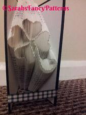 Four Leaf Clover Folded Book Art Folding PATTERN ONLY #548