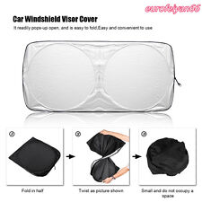 Car SUV Jumbo Front Windshield Visor Shade Sun Anti--UV Protector Cover 150*70cm
