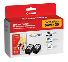 Canon PG-210 XL and CL-211 XL Ink Plus Paper Combo Pack, 50 Sheet, 4 X 6 Inch