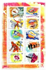 "Australia 2001 ""ROCK AUSTRALIA"" Sheetlet of 10 x 45c stamps  Mint  Original gum"