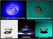 SW UV Ultraviolet Quartz Indicators 12mm Rare Earth Yttrium Vanadate/2% Europium