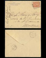New ListingMayfairstamps Canada 1893 Ottawa University to Montreal Creased Cover wwg153