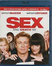 BLU-RAY--SEX AND DEATH 101--BAKER/RYDER/WATERS