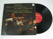 PHILIPS 6500 021 - HAITINK SZERYNG BARTOK VIOLIN CONCERTO No.2 RHAPSODY No.1