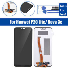 For Huawei P20 Lite/ Nova 3e  LCD Display Touch Screen Digitizer Glass  F