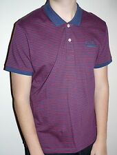 Jack and Jones Vintage Clothing Polo Shirt Top XL Blue Red