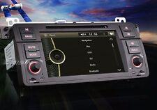 "AUTORADIO 7"" Bmw SERIE 3 E46 M3 Navigatore Gps Comandi volante Dvd Mp3 Bluetooth"