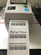 Tested!Zebra LP2824 Plus Direct Thermal Label Barcode Printer. USB Ethernet PS.