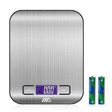 Balance de Cuisine ADORIC - Numérique Haute Précision Inoxydable Écran LCD