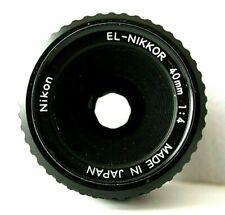 Nikon El Nikkor 40mm f/4 Enl.Lens Rare M-