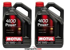 Aceite Motor Motul 4100 Power 15W50, 10 litros