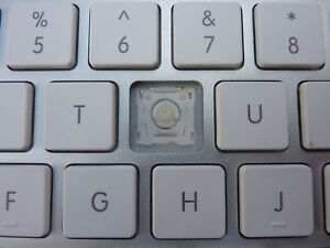 Replacement Key & Clip for Apple Magic Wireless Keyboard v1 model A1314 A1255