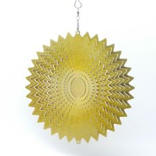 Gold Splash Wind Spinner 6.5 inch Beautiful Christmas Decor