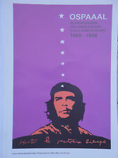 OSPAAAL POLITICAL Poster Che Guevara 30TH ANNIVERSARY CUBAN WAR HERO REVOLUTION