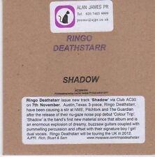 (CE535) Ringo Deathstarr, Shadow - 2011 DJ CD