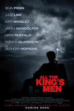 ALL THE KING'S MEN MOVIE POSTER 2 Sided ORIGINAL 27x40