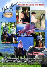 NEW Sealed John Lyons Trailer Loading and More 2 DVD Set Ground Work