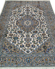 "4' 11"" x 8' 2""  Kashan, Wool,  Authentic Hand Knotted Persian Rug"