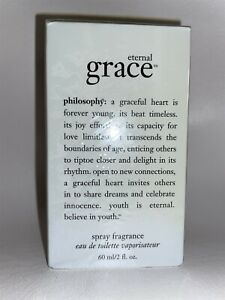 Philosophy Eternal Grace Perfume 2 oz Spray Eau de Toilette 60ml EDT Rare Sealed