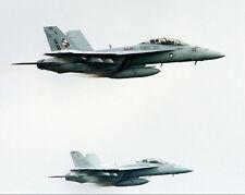 F/A-18f Super Hornets Reconnaissance Pass 11x14 Silber Halogen Fotodruck