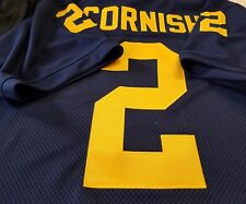 #00 Michigan COLLEGE FOOTBALL JERSEY - Your Name&Number Sewn on.