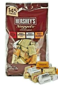 HERSHEY'S Nuggets Assorted Variety milk chocolate 1.47 kg US Made Free Postage