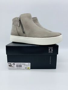 Naturalizer Women's Celeste Sneaker Booties Grey Leather US 8.5M / EUR 38.5