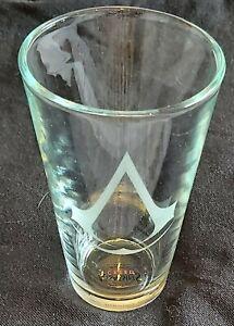 Assassins Creed branded engraved glass - Ubisoft souvenir