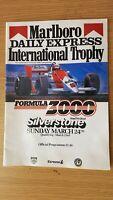 1985 FIA FORMULA 3000 CHAMPIONSHIP MARLBORO DAILY EXPRESS INTERNATIONAL TROPHY