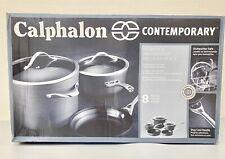 Calphalon 1876784 Contemporary Hard-Anodized Aluminum Nonstick Cookware, Set,...