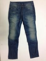 Levis 571 Damen Jeans Hose Dunkelblau Dark Washed W29 L32