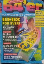 64er (64´er) 10/93 1993 C64 Commodore 64 (GEOS, Monitor vs TV, Basic Assembler)