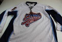 K1 Embroidered Patch Las Vegas Stars Thick Hockey Jersey Shirt 2XL XXL