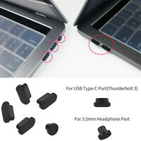 """Anti Dust Port Plugs for Macbook Pro 15"""" 13"""" touch bar 2018 2017 2016 Release"""