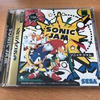 Sega Sonic Jam Sega Saturn J-NTSC Japan Original Version Official  Free Shipping