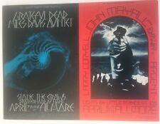 Bill Graham Bg 227/228 Double Postcard 1970