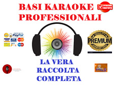LA VERA RACCOLTA BASI PROFESSIONALI KARAOKE MP3 CON CORI SOLO BASI TOP