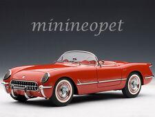 AUTOart 71082 1954 54 CHEVROLET CORVETTE 1/18 DIECAST MODEL CAR RED
