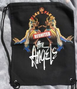 The Angels Bag - Face To Face Reunited Bag- Gym/drawstring Style Back Pack