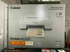 NEW CANON PIXMA MG2520 ALL IN ONE PRINTER PRINT-COPY-SCAN INK NOT INCLUDED