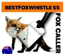 SS Fox Whistle - Tenterfield Type from Best Fox Whistle Australia