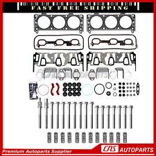 Head Gasket Set Bolts Lifters Set For 05-09 Chevrolet Pontiac 3.4L OHV VIN F