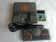 NEC PC Engine Coregrafx2 Console PI-TG7 Pad and one Game set/tested-L9-