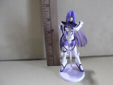 """#B564 Unknown Anime 4""""in Purple Hair Girl in Hot White Outfit"""