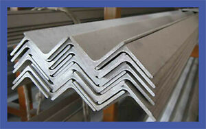 Mild Steel Angle Equal 50mm x 50mm x 5mm strong Metal Various Length