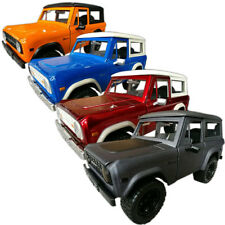 """1973 FORD BRONCO HARDTOP COLLECTION 8"""" INCH DIECAST 1:24 SCALE SET OF 4 BRONCOS!"""