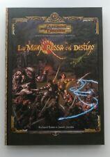 ⚝ MANUALE LA MANO ROSSA DEL DESTINO + MAPPA⚝  Dungeons & Dragons 3.0 3.5 D&D ITA