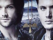 SUPERNATURAL COLLANA-CIONDOLO  Jensen Ackles Dean Winchester  VAMPIRE CROCE C:L