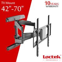 LCD LED Flat Tilt Swivel TV Wall Mount Bracket 42 47 50 55 60 65 70 for Samsung